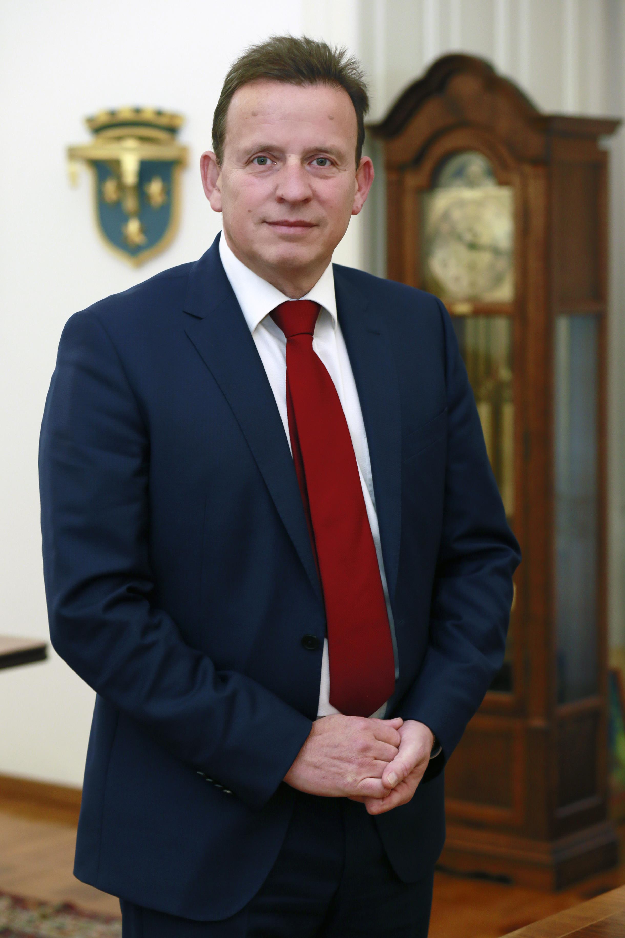 Župan Bojan Šrot