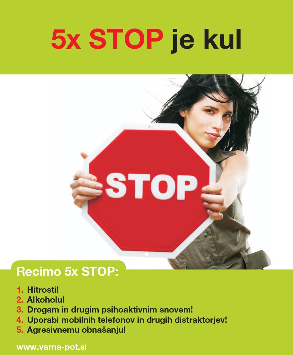 5 X STOP JE KUL A4 JAN 2019