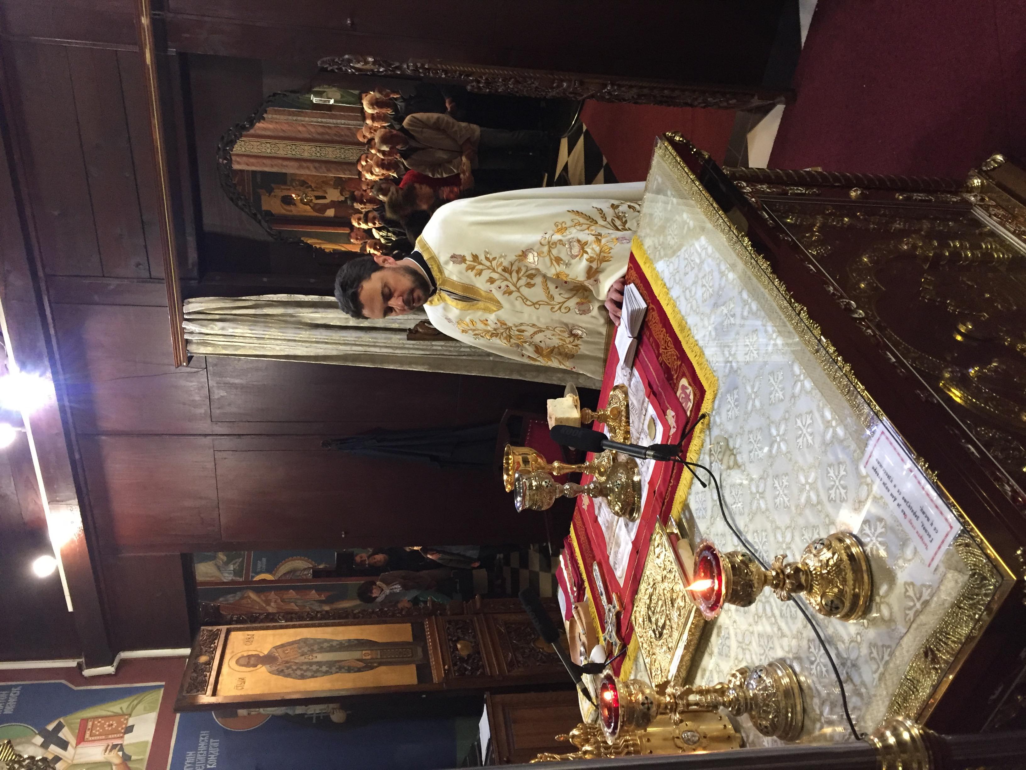 Sveštenik Aleksandar Obradović, paroh ljubljanski