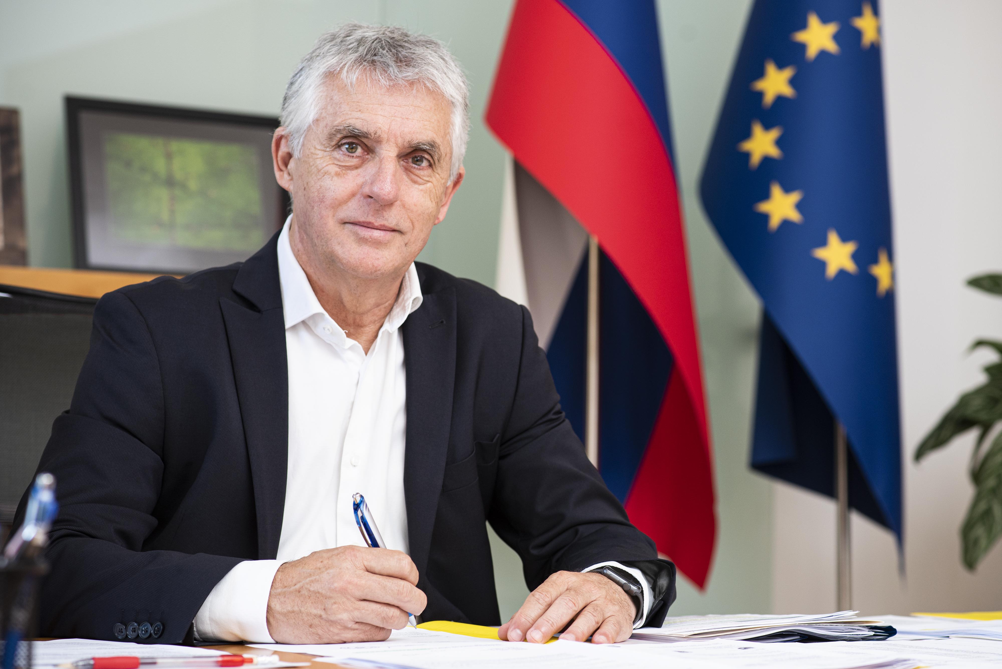 Ljubljana,Ministerstvo za zdravje.Ministrster za zdravje Tomaz Gantar.